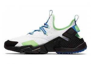 Nike Air Huarache Drift WHITE BLUE GREEN BLACK
