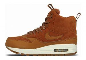 Nike Air Max 1 Mid Sneakerboot Brown
