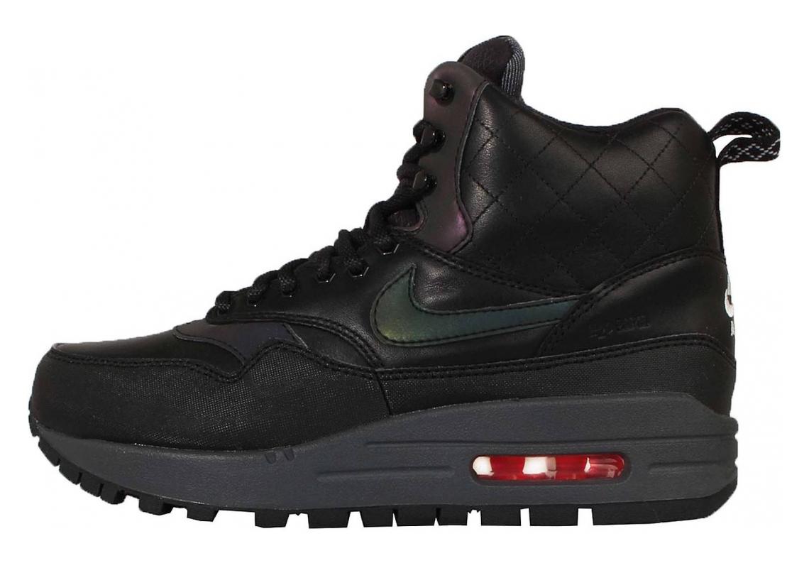 Nike Air Max 1 Mid Sneakerboot Black