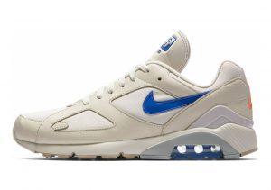 Nike Air Max 180 Beige (Desert Sand/Racer Blue/Total Orange 002)