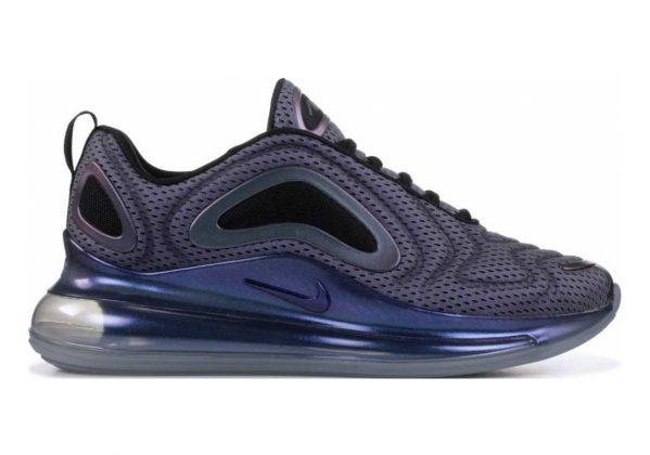 Nike Air Max 720 Metallic Silver, Black