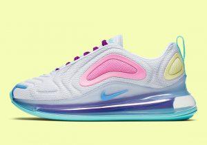 Nike Air Max 720 Easter Pastel