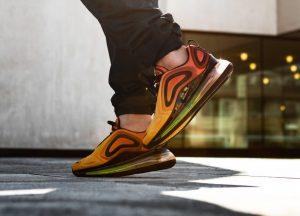 Nike Air Max 720 Orange Black Laser