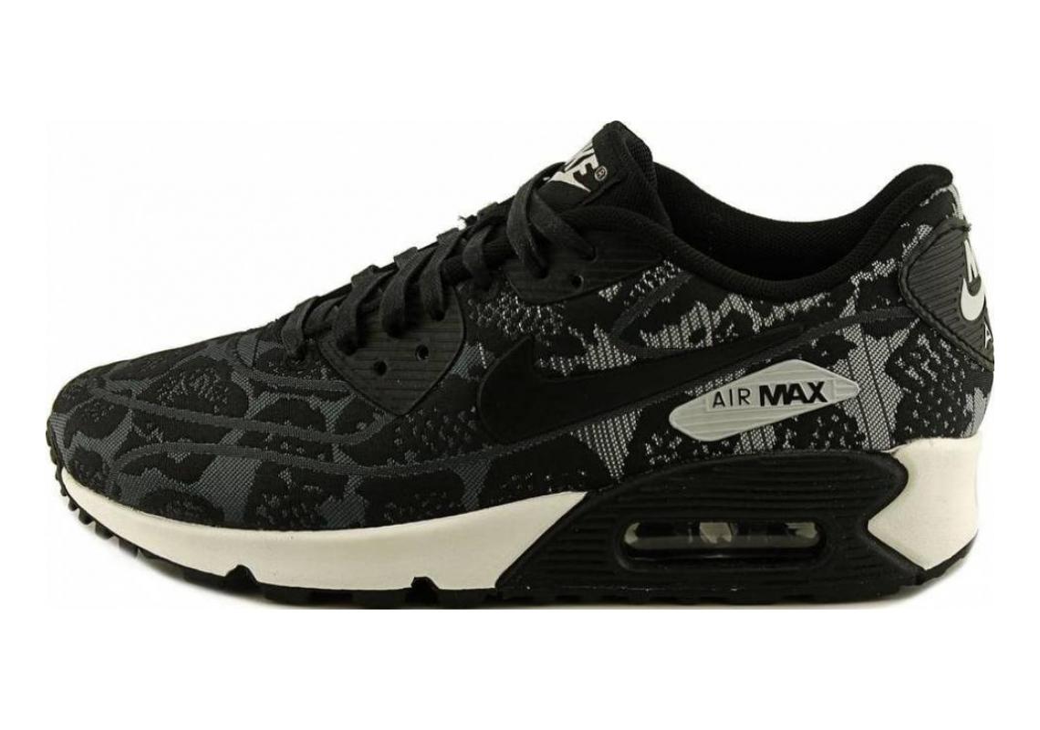Nike Air Max 90 Jacquard Dark Grey/Black-pure Platinum