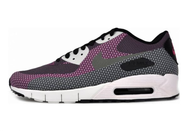 Nike Air Max 90 Jacquard Black/Md Bs Grey-anthracite-bright Magenta