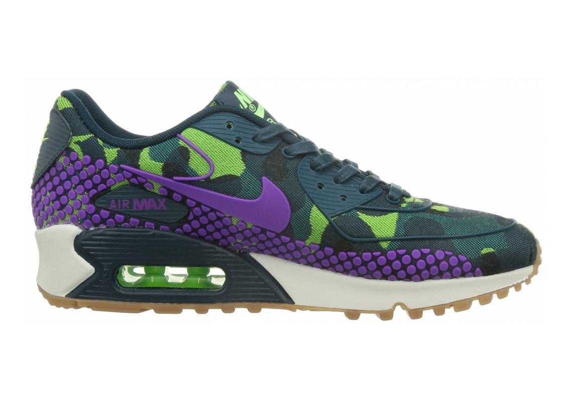 Nike Air Max 90 Jacquard Teal/Vivid Purple-mid Tl-ghost Green