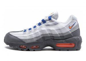 Nike Air Max 95 Essential Cool Grey/Total Orange-white