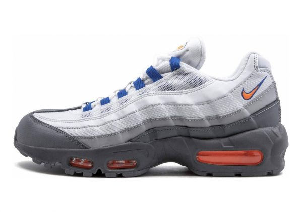 Nike Air Max 95 Essential Cool Grey/Total Orange-white