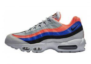 Nike Air Max 95 Essential Multicolore (Pure Platinum/Black/Bright Mango 035)