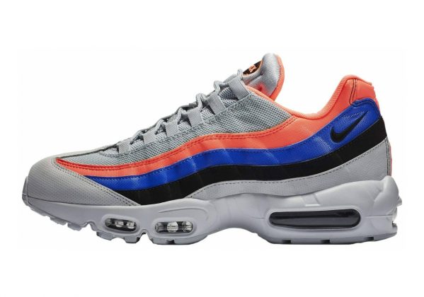 Nike Air Max 95 Essential Multicolore (Pure Platinum/Black/Bright Mango 035)