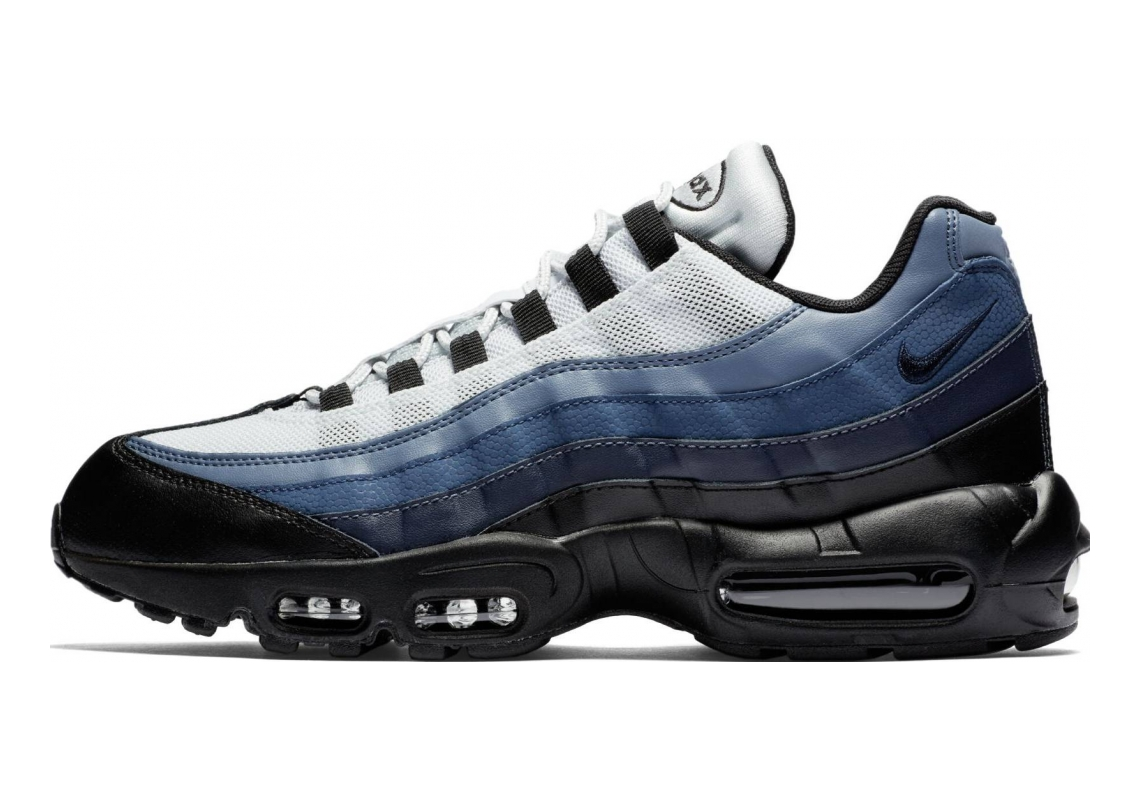 Nike Air Max 95 Essential Black (Black/Obsidian-navy Blue-pure Platinum 028)