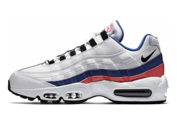 Nike Air Max 95 Essential Multicolor (White/Black/Solar Red/Ultramar 106)