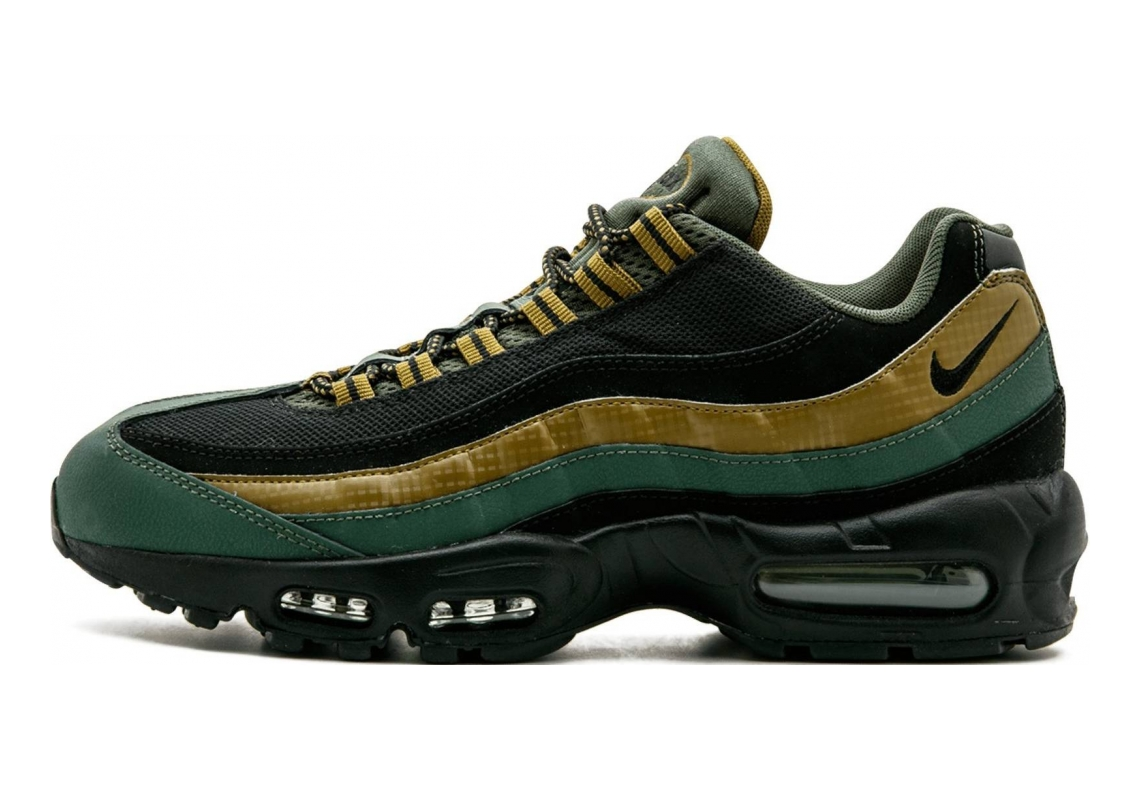 Nike Air Max 95 Essential Carbon Green/Militia Green/Hyper Orange/Black