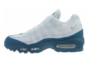 Nike Air Max 95 Essential Multicolore (White/Pure Platinum/Green Abyss 113)
