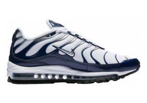 Nike Air Max 97 Plus white metallic silver 100