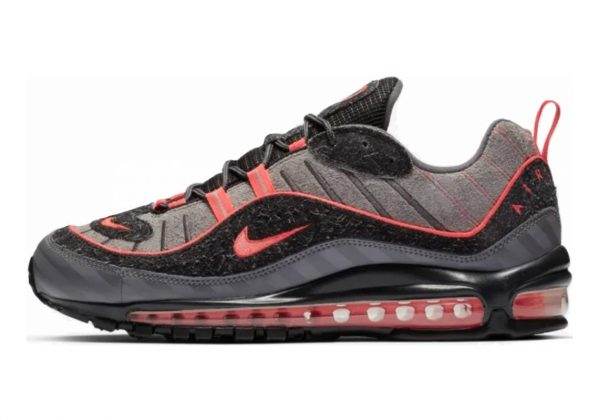 Nike Air Max 98 Gun Smoke/ Lava Glow/ Grey