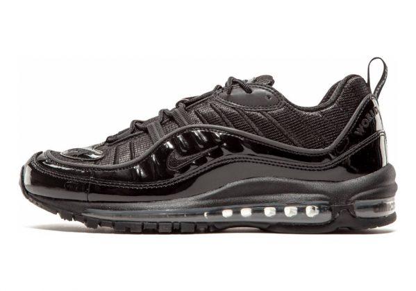 Supreme x NikeLab Air Max 98 Black (Black (Black / Black-black))