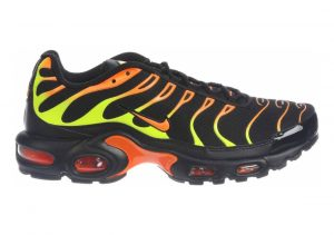 Nike Air Max Plus Black/Volt/Total Orange/Hot Punch