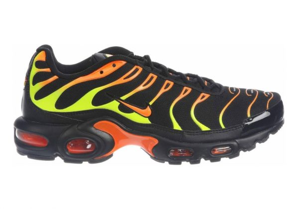 Nike Air Max Plus Black/Volt/Total Orange/Hot Punch