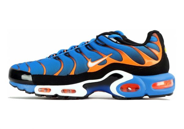 Nike Air Max Plus Photo Blue/White/Total Orange