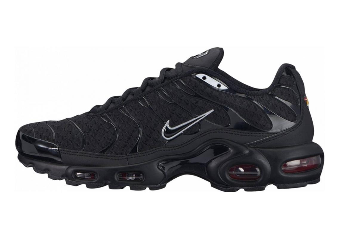 Nike Air Max Plus Black Metallic Silver 015