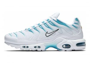 Nike Air Max Plus White Light Blue Fury 105