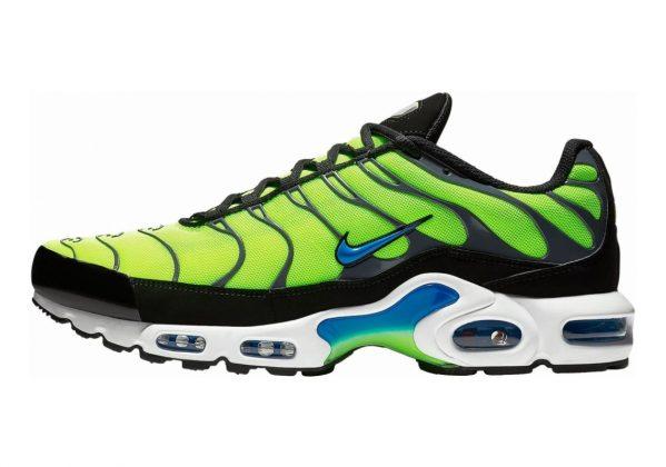 Nike Air Max Plus Verde (Volt/Photo Blue/Black/Dark Grey 700)
