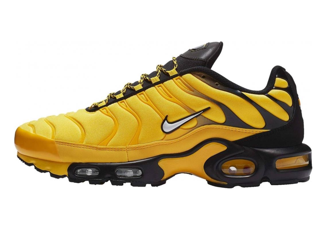 Nike Air Max Plus Tour Yellow, White-black