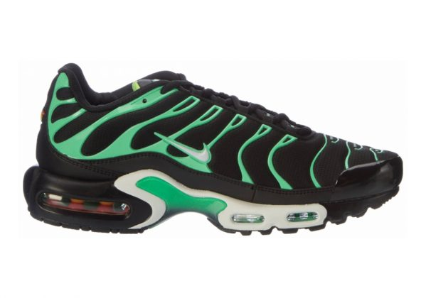 Nike Air Max Plus Black (Black/White/Electro Green 009)