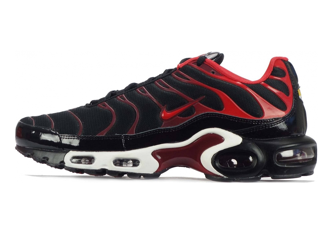 Nike Air Max Plus Black/University Red/Team Red