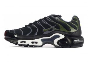 Nike Air Max Plus Black/Legion Green/Dark Grey/White