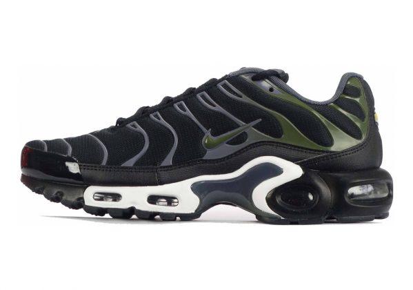 Nike Air Max Plus Black/Legion Green/Dark Grey/White
