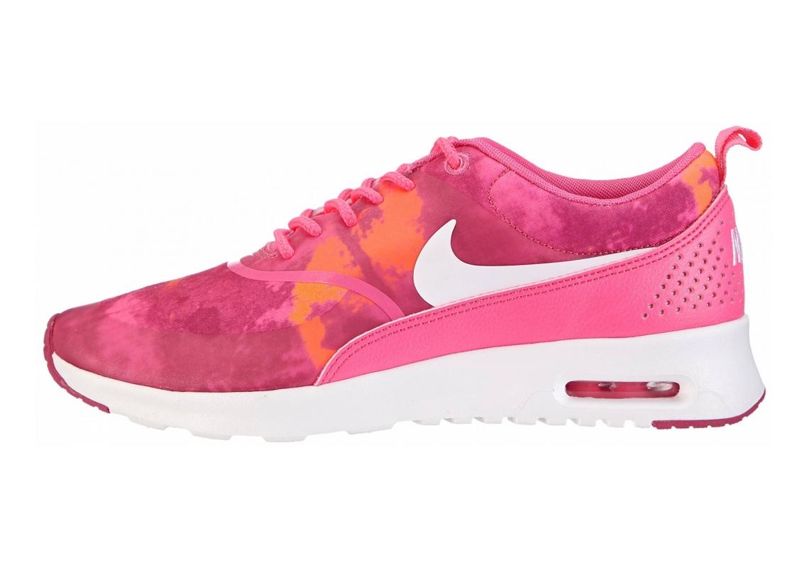 Nike Air Max Thea Print Pink (Pink Powder/White-fireberry-total Orange)