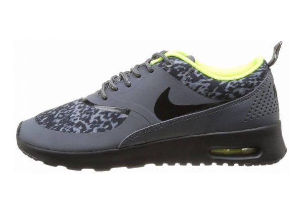 Nike Air Max Thea Print Dark Grey/Black-volt