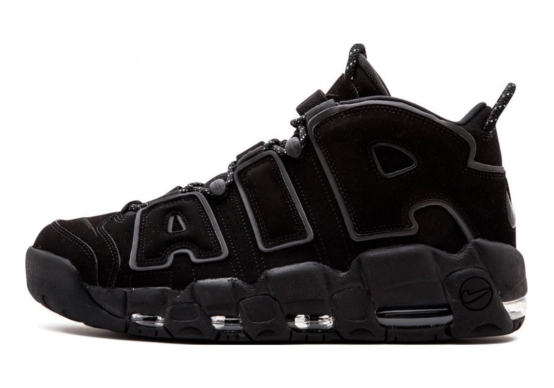 Nike Air More Uptempo black, black-black