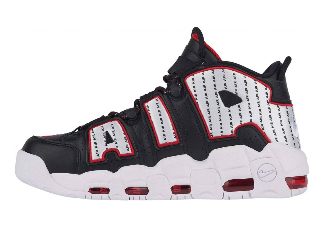 Nike Air More Uptempo black white