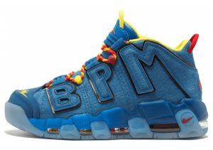 Nike Air More Uptempo Blue Jay, Gym Red-team Orange-blue Jay