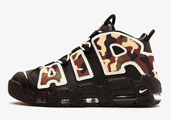 Nike Air More Uptempo Camo