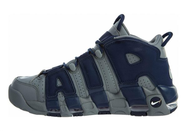 Nike Air More Uptempo Cool Grey / Midnight Navy-white
