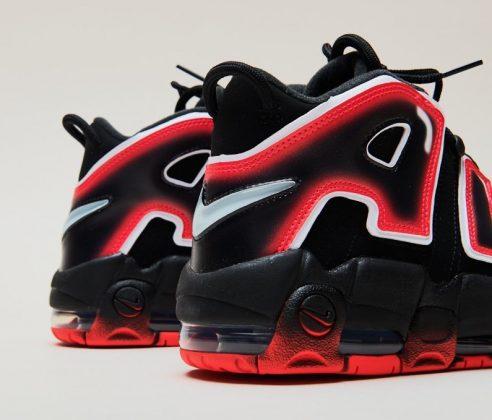 Nike Air More Uptempo Laser Crimson