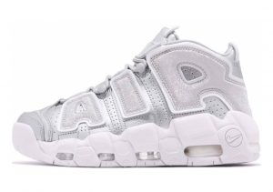 Nike Air More Uptempo Metallic Silver