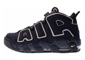 Nike Air More Uptempo Obsidian, Obsidian-white
