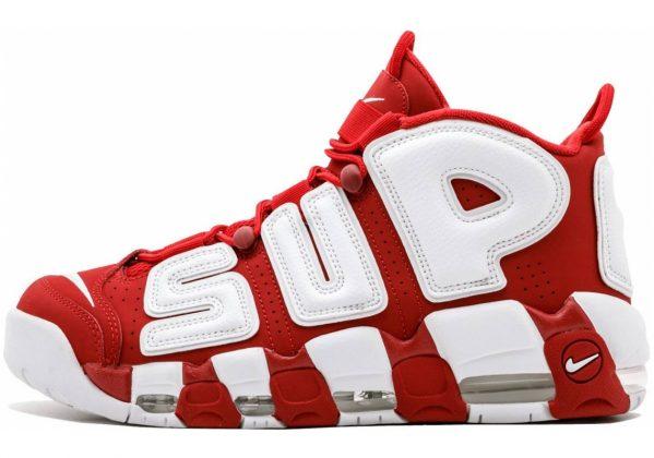 Nike Air More Uptempo Varsity Red/White