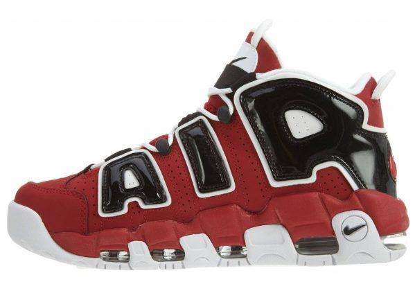Nike Air More Uptempo Varsity Red / White-black
