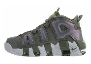 Nike Air More Uptempo Dark Stucco / White-black