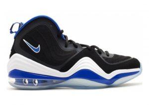 Nike Air Penny V black, game royal-white