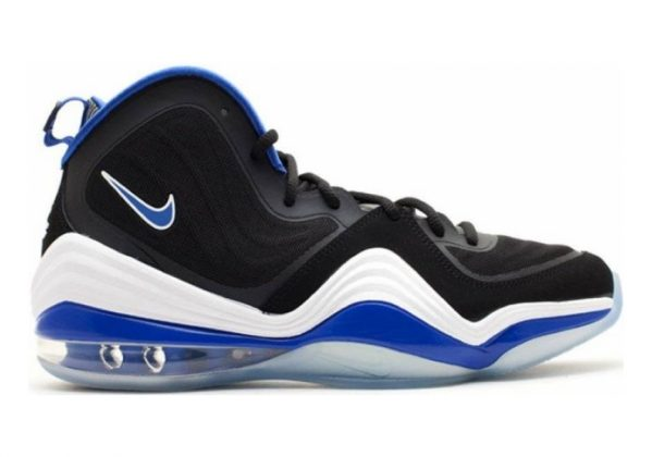 Nike Air Penny V black, game royal-white