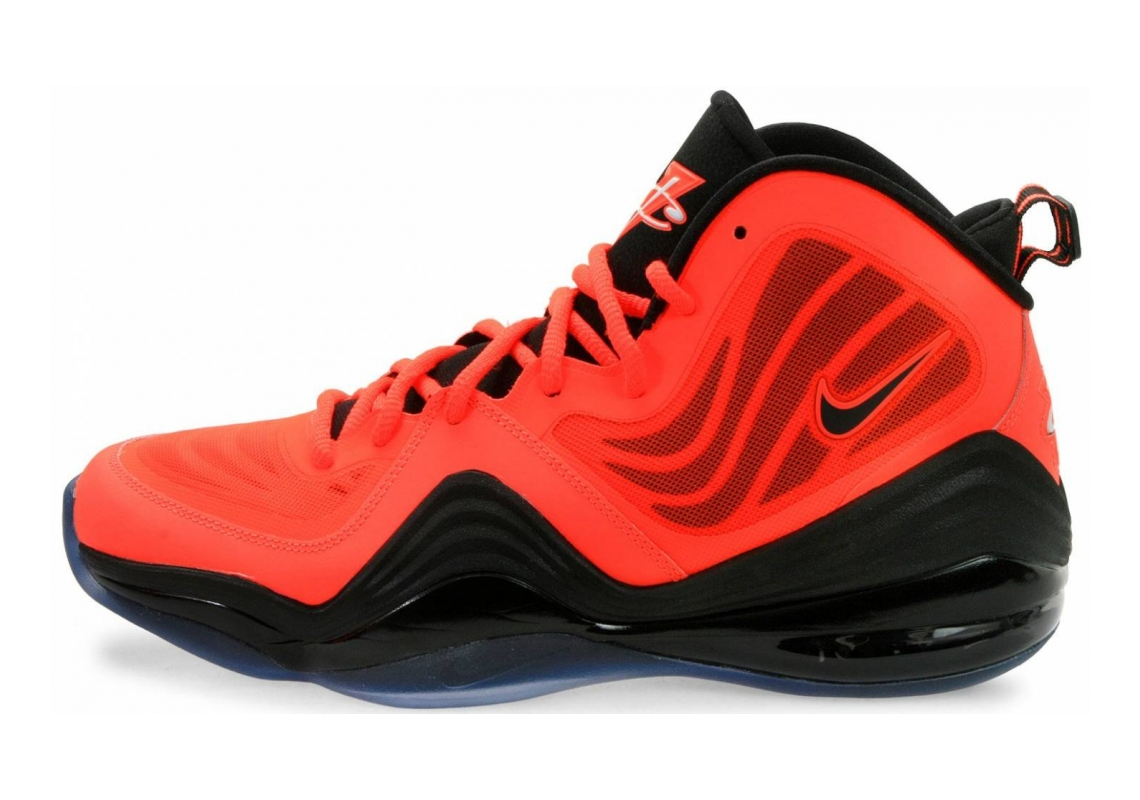 Nike Air Penny V Crimson Orange/Black