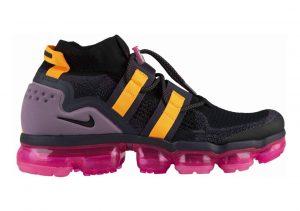 Nike Air VaporMax Flyknit Utility Black/Black-gridiron-pink Blast