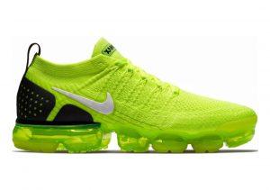 Nike Air VaporMax Flyknit 2 Multicolore (Volt/White/Black 700)